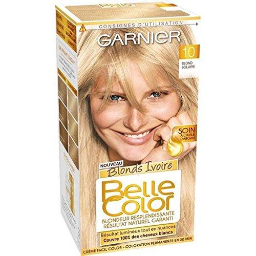 garnier belle color coloration n1010 blond tres clair naturel - Belle Color Blond Naturel