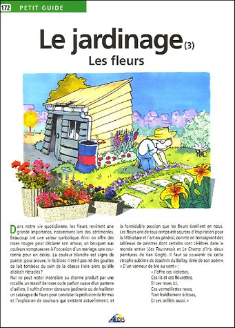 Le jardinage : Les fleurs par Jean-Marie Polese