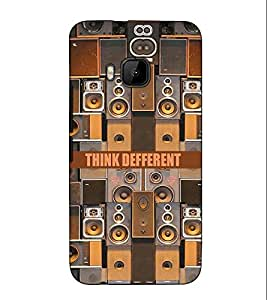Fuson Designer Back Case Cover for HTC One M9 :: HTC One M9S :: HTC M9 (Sounds and speaker theme)