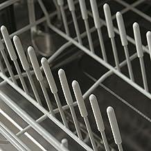 100 Tapas Blancas Universales Smith para Puntas de Rejillas de Lavavajilla Solo Presiona para Reparar
