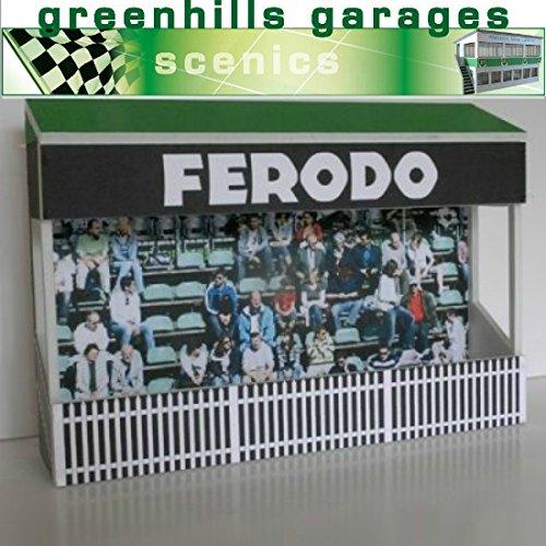 Greenhills Scalextric Slot Car Building Goodwood Grandstand Kit 1:32 Scale Slimline Tribüne
