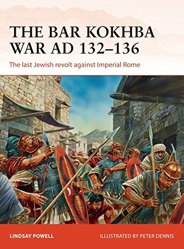 The Bar Kokhba War AD 132-136: The last Jewish revolt against Imperial Rome (Campaign, Band 310) - Rom-bar