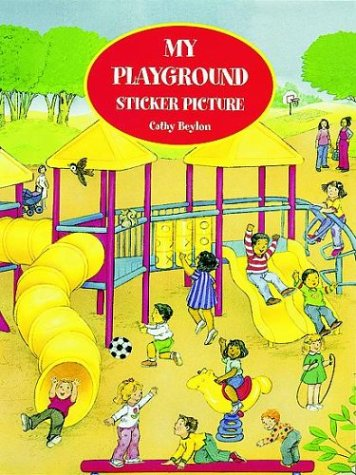 My Playground Sticker Picture Book (Sticker Picture Books)