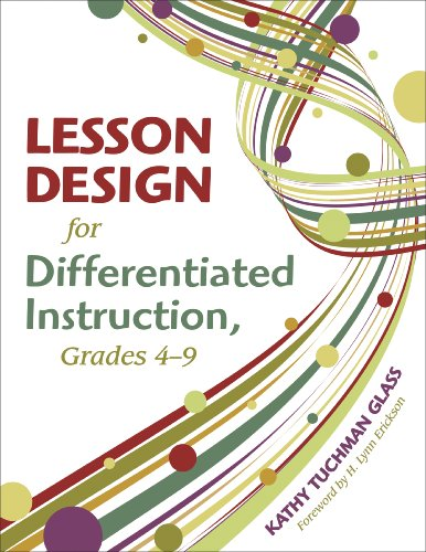 Lesson Design For Differentiated Instruction Grades 4 9 Download