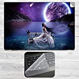 Beautiful night Laptop Skin + Silicon Laptop Keyboard Protector Cover Combo for all HP, DELL, ASUS, SONY, SAMSUNG, ACER Laptops upto 15.6-inch Screen Size. 2mm Rubber Speed Edition Gaming Mouse pad for all Wireless Gaming, Laser and Optical Mouse.HP, DELL, ASUS, SONY, SAMSUNG, ACER Laptops upto 15.6-inch Screen Size. 2mm Rubber Speed Edition Gaming Mouse pad for all Wireless Gaming, Laser and Optical Mouse.