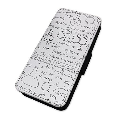 Wissenschaft Mathematik – Whiteboard Doodles – Flip Case Wallet Cover Samsung A3 (2017)