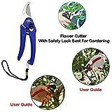 #5: Garden Scissors - Garden Shears Pruners Scissor, Pruning Seeds (Any Color) | Hedge Cutter | Garden Tool Set | Hedge Shear | Garden Shear | Grass Cutter | Pruner | Gardening Tools |