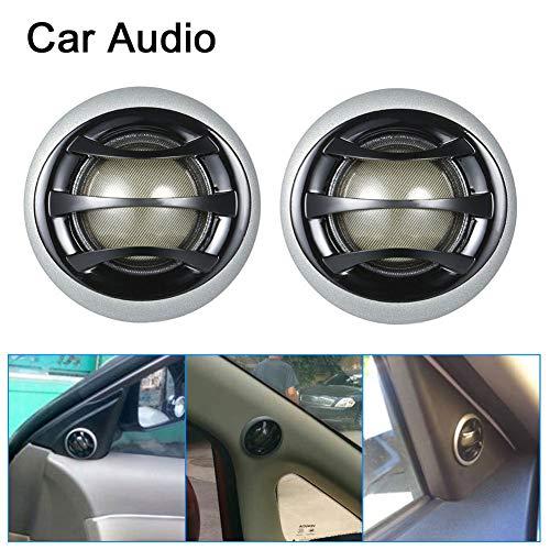 YSHtanj Auto-Lautsprecher, elektrisches Gerät, 1 Paar, 150 W, für Auto/LKW, Audio, Stereo, Hochtöner, Lautsprecher, Schwarz