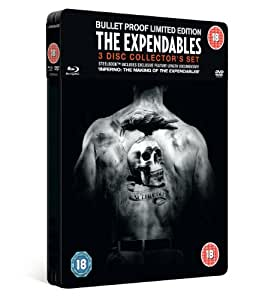Expendables. The Collectors Ed. Steel Tin (Blu-Ray & Dvd Combi) [Edizione: Regno Unito]