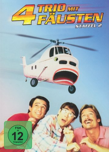 Trio mit 4 Fäusten - Staffel 2 (5 DVDs)