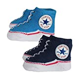 Converse Baby 2 piece Gift Set Infant booties Navy Blue