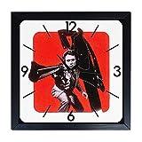 Orologio da parete in Legno Una 44 magnum per l'ispettore callaghan - clint eastwood