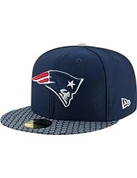 New Era Herren Caps / Fitted Cap NFL On Field New Endland Patriots 59Fifty