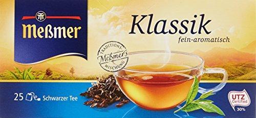 Meßmer Klassik 25 Teebeutel, 43,75 g Packung