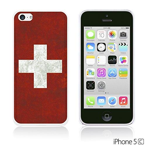 OBiDi - Flag Pattern Hard Back Case / Housse pour Apple iPhone 5C - Germany Switzerland