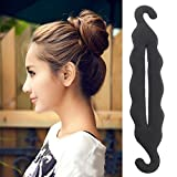 #8: Blackbond Magic Hair Styling Twist Styling Bun Head Rubber Clip Hair Accessories For Women Hair Braiding Tool