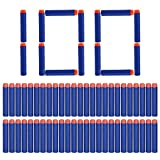 Yosoo® 100Pcs 7.2cm Refill Bullet Darts for Nerf Elite Series