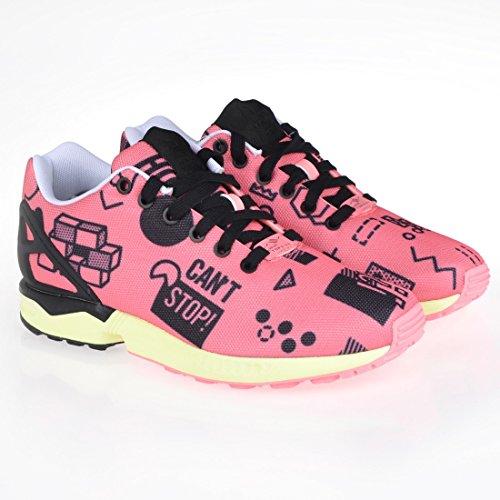adidas-originals-zx-flux-chaussures-mode-sneakers-homme-rouge-torsion-system-adidas-originals-t37-1-