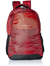 Aristocrat Revo 30 Ltrs Red Casual Backpack (BPREVO1RED)