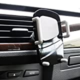 Car Mount / Holder 3 in 1 - TechToDoor 3 in 1 Universal Windscreen Dashboard and Air Vent Car Phone Holder - Universal Adjustable Cradle - Windshield Holder Cradle with Strong Sticky Gel Pad for iPhone 6S/6s Plus/6/6 Plus/5S/5C/SE, Galaxy Note 4/3, Galaxy S5 S6/ S6 Edge/S7/S8 Edge / Nokia / HTC / Sony / Sat Nav / iPod and MP3 Player Bild 6