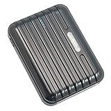 Samsun S3 mini / S3 / S4 Powerbank 12000 mAh Extern Ladegerät Extern Batterie AKKU Zusatzakku mit 5 Adapter für Unterwegs (Schwarz)