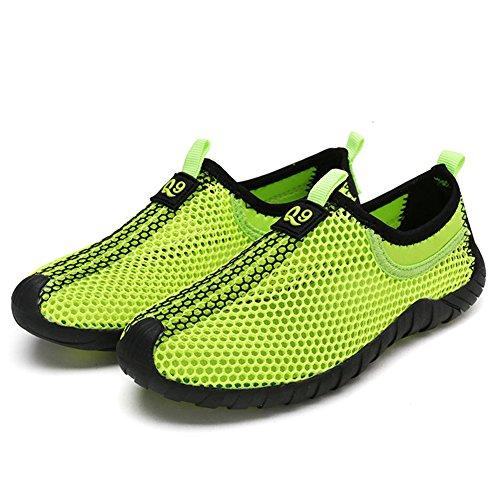IDEA FRAMES Kinder Laufschuhe Breathable Mesh Outdoor Walking Schuhe Grün