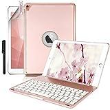 Boriyuan Keyboard Case for Ipad Pro 9.7 (Rose Red)