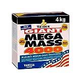 Weider Mega Mass 4000, Kohlenhydrat-Proteinmischung - Geschmack: Vanilla, 1er Pack (1 x 4 kg)