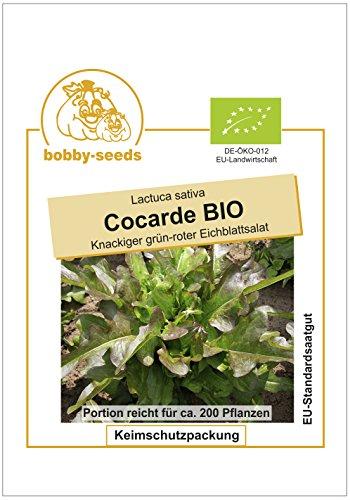 Bobby-Seeds BIO-Salatsamen Cocarde Pflücksalat BIO Portion