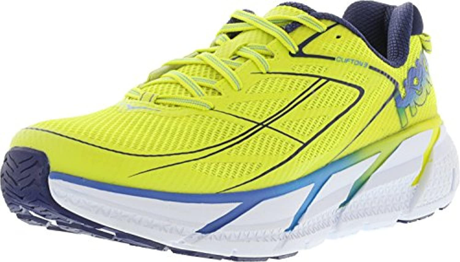 Hoka Clifton 3   citrus/dresden blue