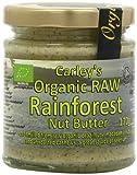 Carleys Organic Raw Rainforest Nut Butter 170 g (Pack of 3)