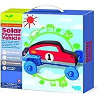 Price comparsion for Build Your Own Solar Energy Powered Vehicle - Fun School Project Set - Number One Educational - Educational Science Present Gift Ideal For Christmas Xmas Stocking Fillers Age 4+ Girls Boys Kids Children