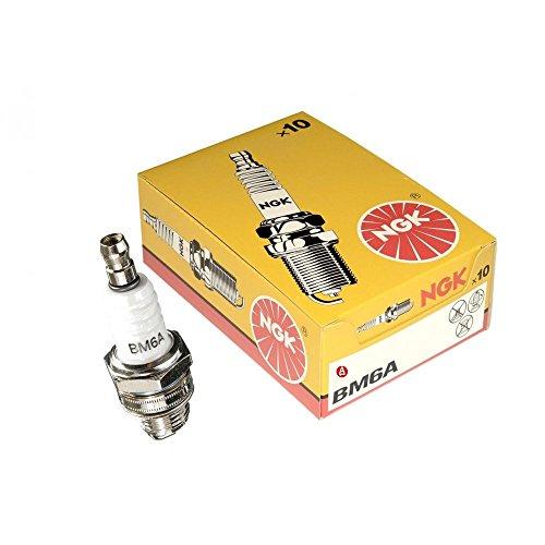 10 candele di accensione della NGK - BM6A, 1521, equivalente a Champion CJ8 o Bosch WS8E, CS/SP107