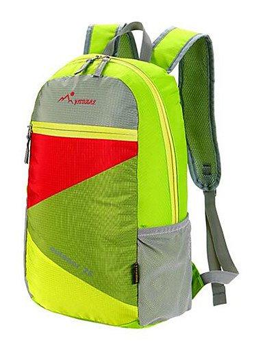 HWB/ 20-35 L Compression-Pack / Rucksack Camping & Wandern / Legere Sport / Reisen / Radsport Draußen / Legere SportWasserdicht / Staubdicht / light green
