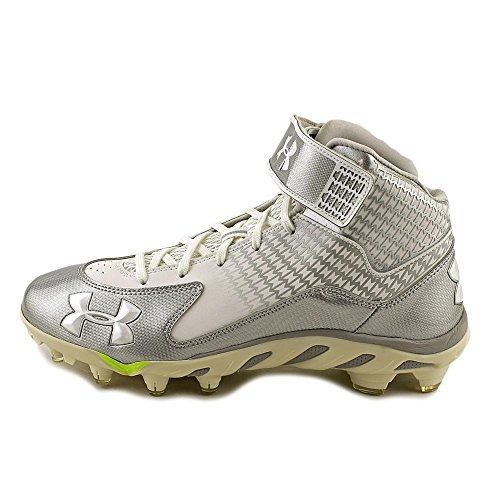 Under Armour Spine Fierce Mid MC Synthétique Baskets Wht-Msv