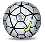 #10: Nike EPL Pitch Football, Size 5 (Silver/Black)