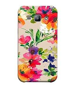 Fuson Designer Back Case Cover for Samsung Galaxy J1 (2015) :: Samsung Galaxy J1 4G (2015) :: Samsung Galaxy J1 4G Duos :: Samsung Galaxy J1 J100F J100Fn J100H J100H/Dd J100H/Ds J100M J100Mu (Multicolor Unique Painting Artwork Female Girls Ladies)