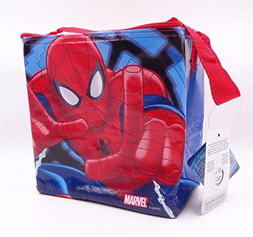 Disney - borsa frigo per bambini, disney, 5,5 l spiderman
