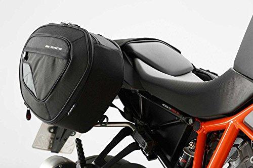 SW-MOTECH BLAZE H Satteltaschen-Set, Schwarz/Grau für KTM 1290 Super Duke R (14-) -