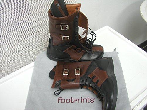 FOOTPRINTS Toledo Stiefel Naturleder mit schmalem Fußbett Black/Brown