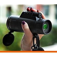 UrChoiceLtd® Panda 40x60 Telescopio Monocular Dual Focus óptico Prism Caza Alta Calidad Turismo Alcance prismáticos