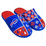 Buffalo Bills Men's Ugly Sweater Knit Slippers