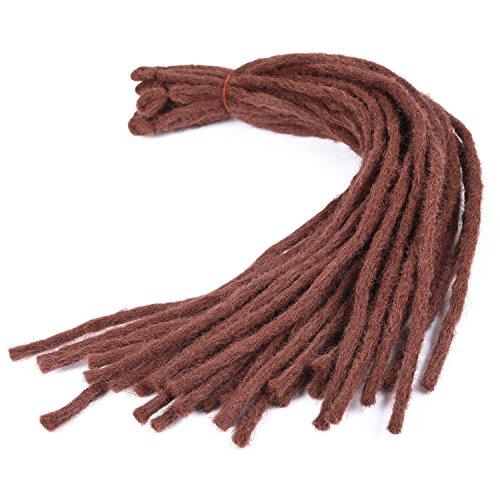 Silike new dreadlock crochet capelli (30roots/pezzo di 1) 45,7cm crochet trecce synthetic crochet braiding extension per capelli da donna per danza