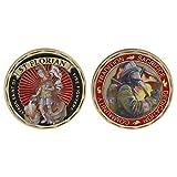 Exing Sammlermünzen Münze, Gedenkmünze America Fire Control Protection ST Florian Collection