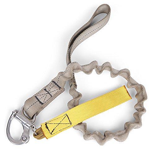 Lixada Elastische Hundeleine Pet Shackle Produkte Hunde Harness Halsband Leine Nylon beschichtete Hundehalsbänder Bungee für Hundetraining Walking -