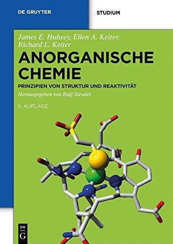 Anorganische Chemie: Prinzipien von Struktur und Reaktivität (De Gruyter Studium)