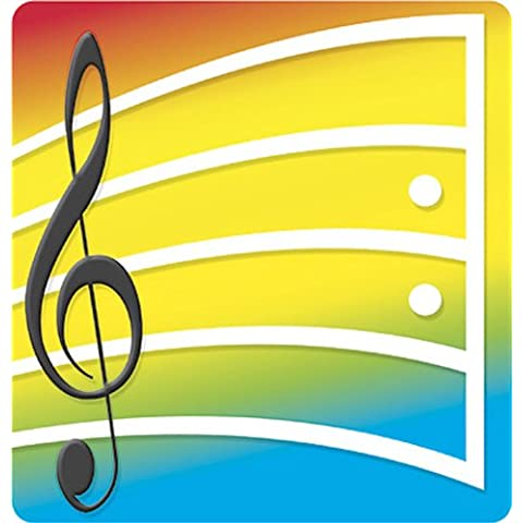 NOTE PAD MUSICAL NOTES 50 SHT 5X5