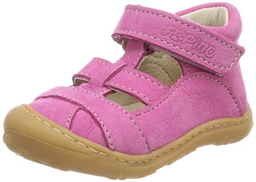 RICOSTA Mädchen LANI Hohe Sneaker, Pink (Peony), 22 EU