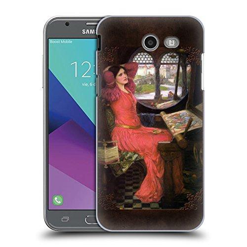 Offizielle Brigid Ashwood Wasserhaus 9 Präraffaeliten 2 Ruckseite Hülle für Samsung Galaxy J3 Emerge