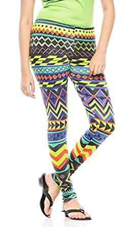 Global Trendz Women Cotton Leggings -Multi -X-Large
